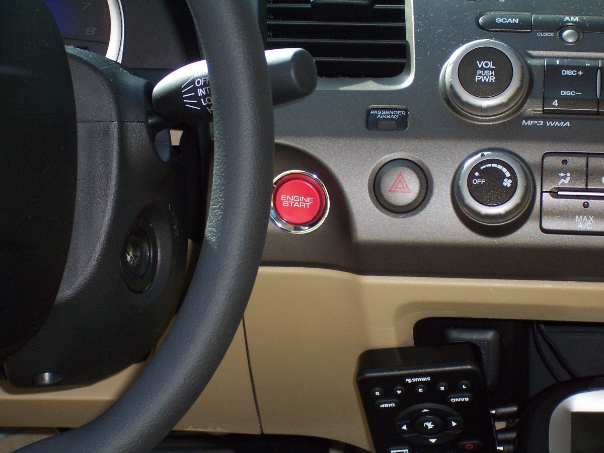 diy: push start button ( wiring diagram)-01 09 07-013