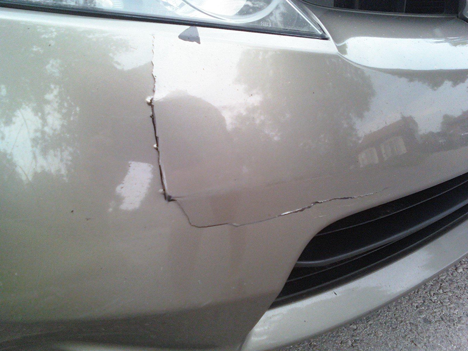 Greg May Honda >> How can I fix my cracked bumper cover? - 8th Generation Honda Civic Forum