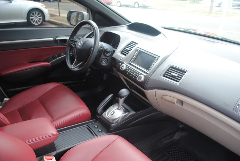 ... My 2010 Civic EX, Red Leather Interior 38 ...