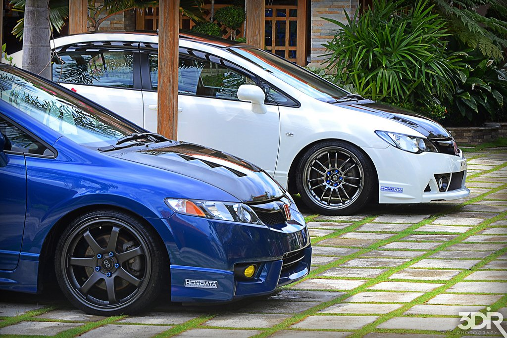 What Rims Are These Civic Type R Front Conversion 8th