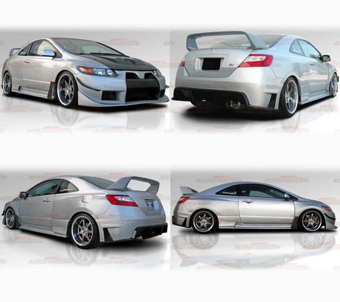 2008 Honda Civic Si Coupe Body Kit Www Proteckmachinery Com