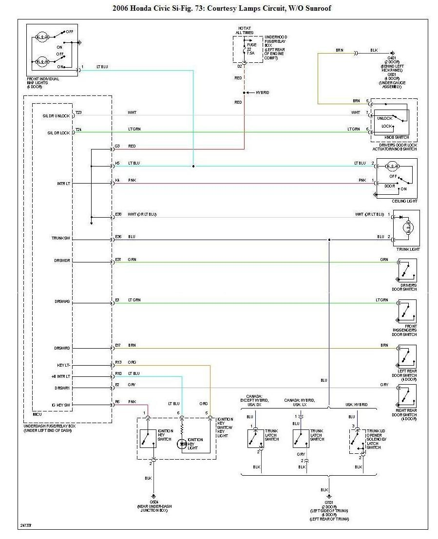 Electrical Wiring Diagrams Updated Asap 8th Generation Honda Civic Forum