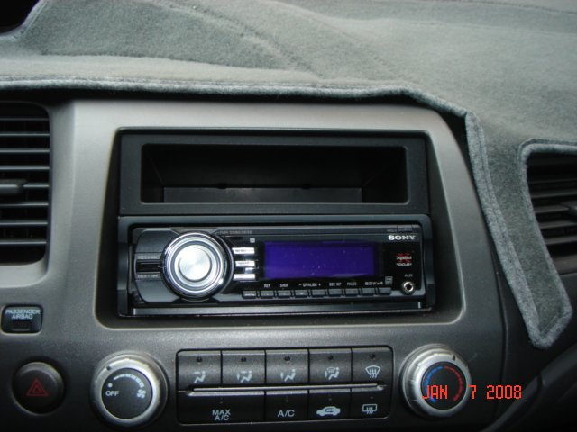Diy Aftermarket Radio Install In An Ex Page 10 8th Generation Rh8thcivic: 2006 Honda Civic Coupe Radio At Gmaili.net