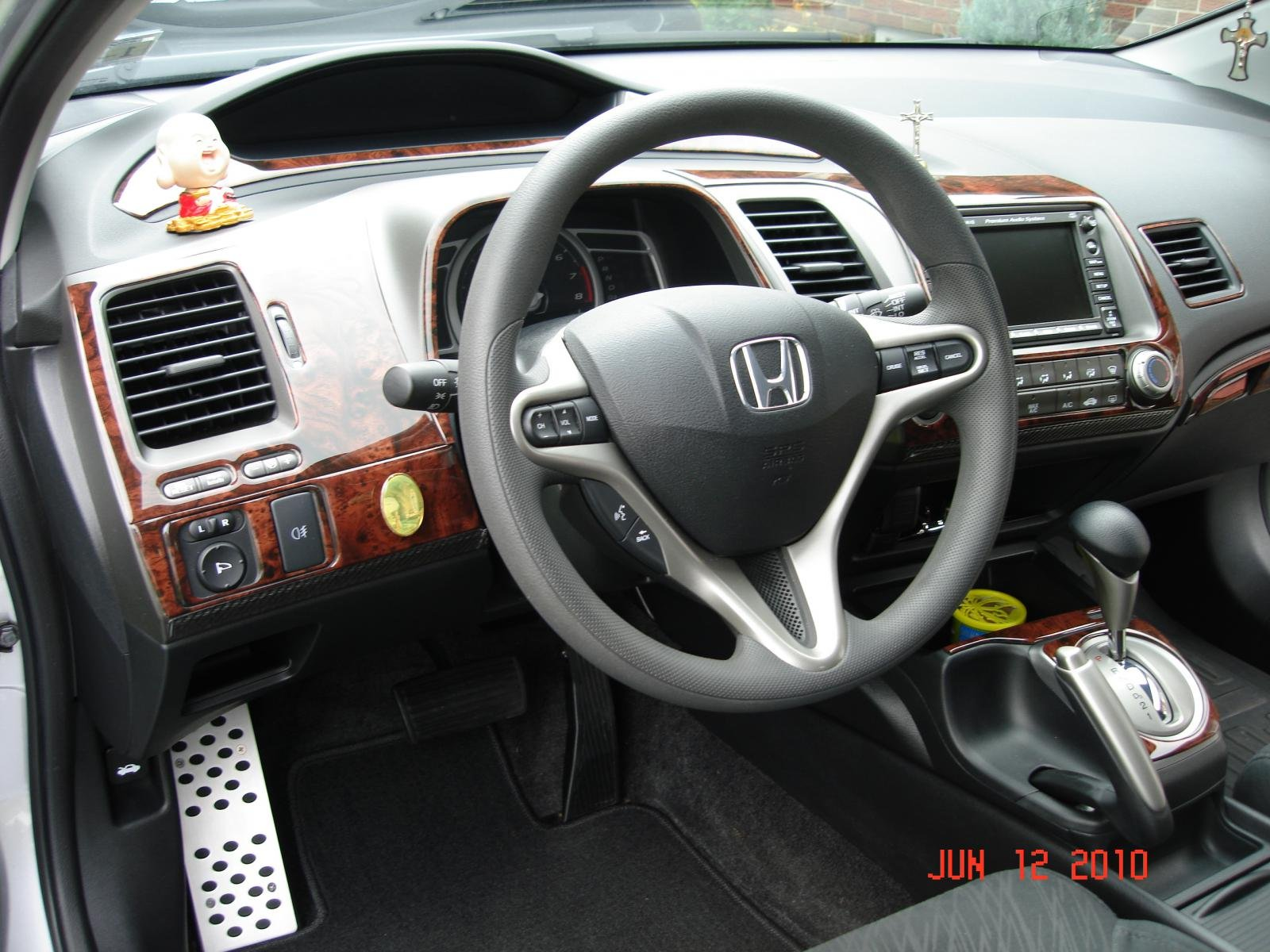 My Benevento Wood Trim On 2007 Honda Civic Coupe Dsc03391 Jpg