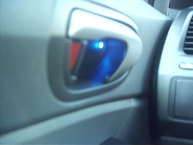 DIY Ambient lighting in door handles  8th Generation Honda Civic