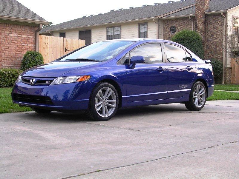 Honda Civic Blue >> My new 2007 Fiji Blue SI Sedan - 8th Generation Honda Civic Forum
