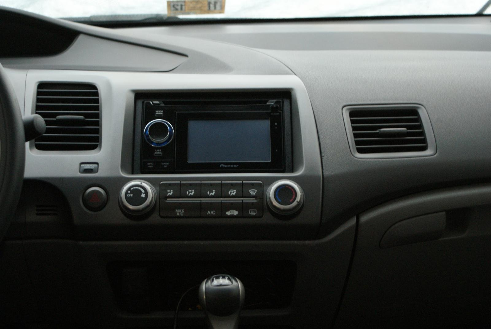 Diy Aftermarket Radio Install In An Ex Page 21 8th Generation 2010 Honda Civic Wiring Harness Gps 252