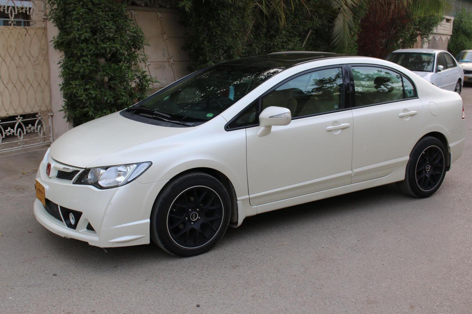 Civic Fd1 From Karachi Pakistan Wrapped In Satin Pearl White 3m 1080 8th Generation Honda Civic Forum