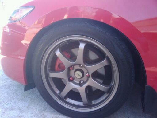 Mb Wheels Weapon Page 2 8th Generation Honda Civic Forum