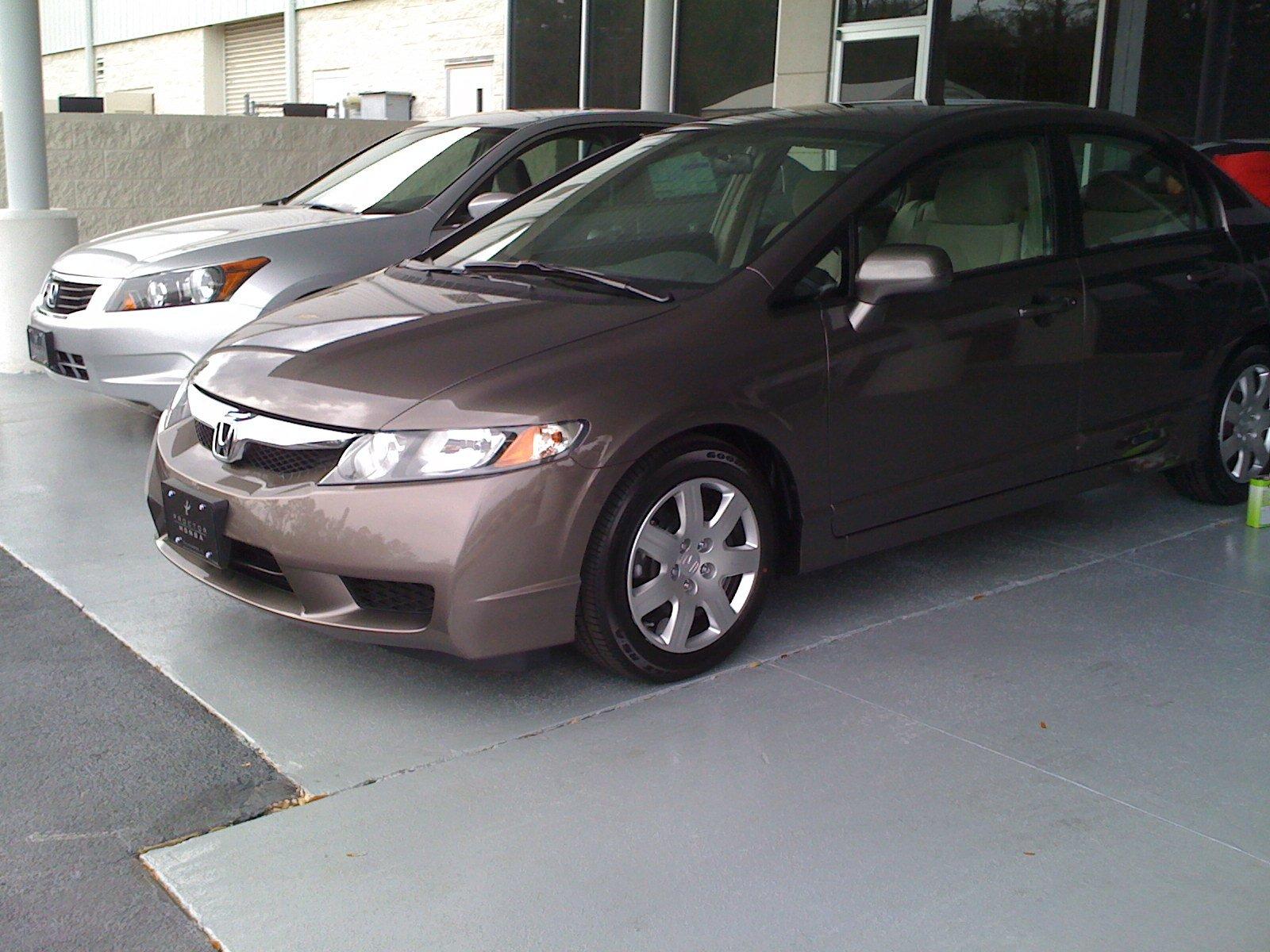 2009 Urban Titanium Metallic 8th Generation Honda Civic