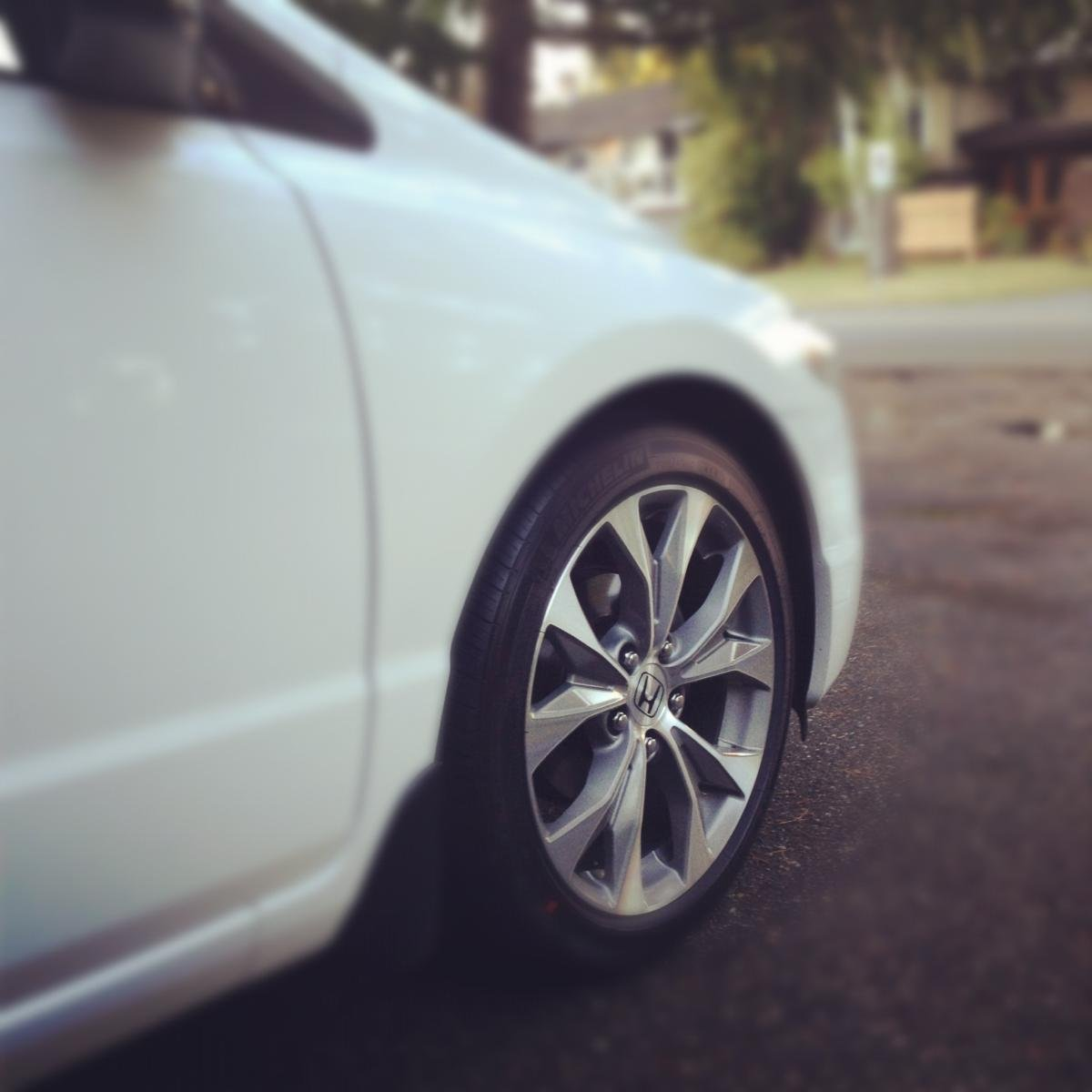 Honda/Acura Rims On An 8th Gen