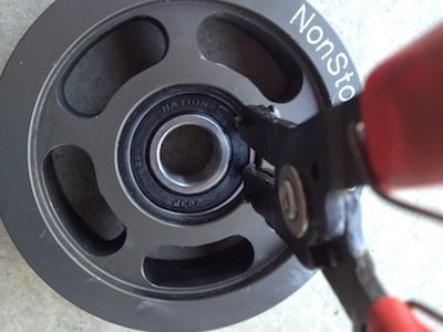 D Nst Idler Pulley Bearing Replacement Img on Honda Civic Idler Pulley Replacement