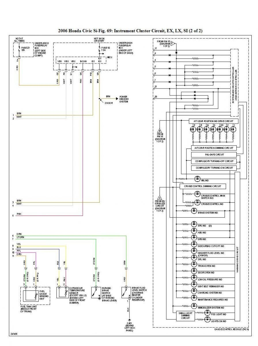 8th Gen Civic Si Fuse Box Diagram 33 Wiring Images 2002 Honda 19624d1237821426 Electrical Diagrams Updated Asap Instrumentclustercirciut2 2