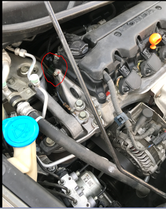 Oil Leak 2007 Honda Civic Ex Engine At Rocker Arm Control Solenoil