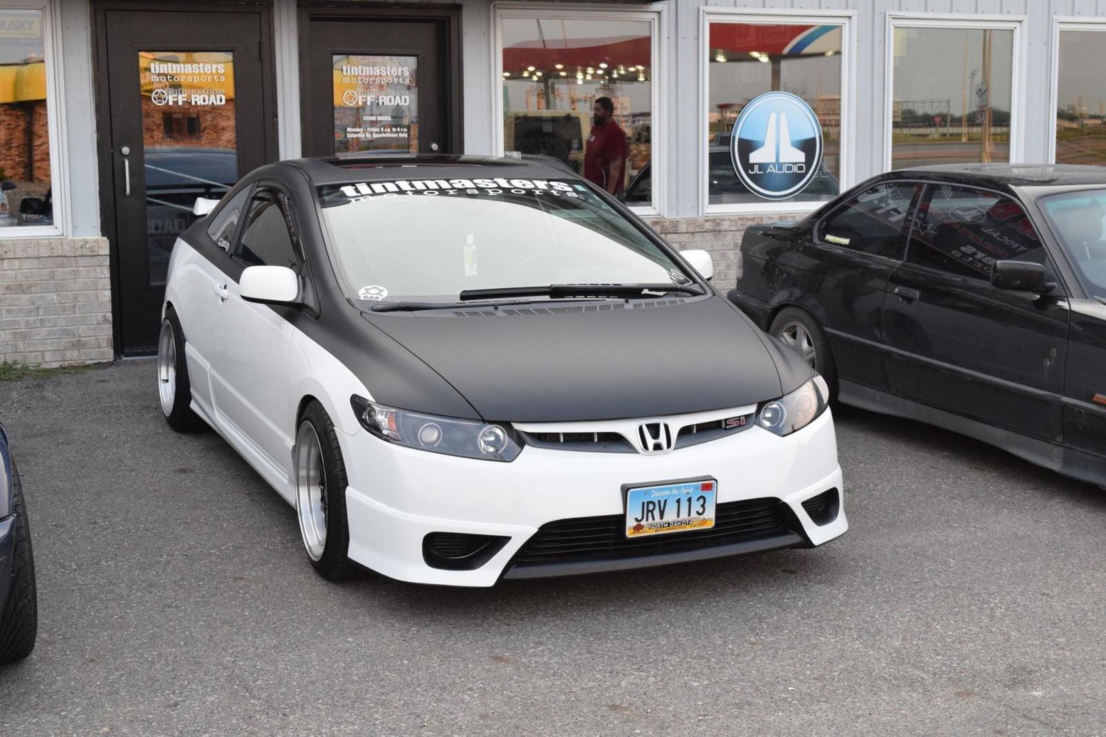 Vinyl Wrapped Civic 8th Generation Honda Civic Forum