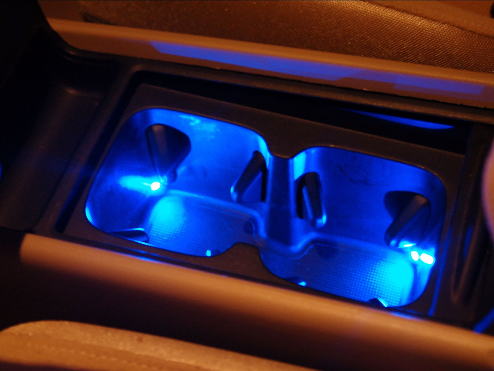 diy ambient lighting. DIY: Ambient Lighting, Cup Holder, Under The Dash, And Change Pocket Diy Lighting W