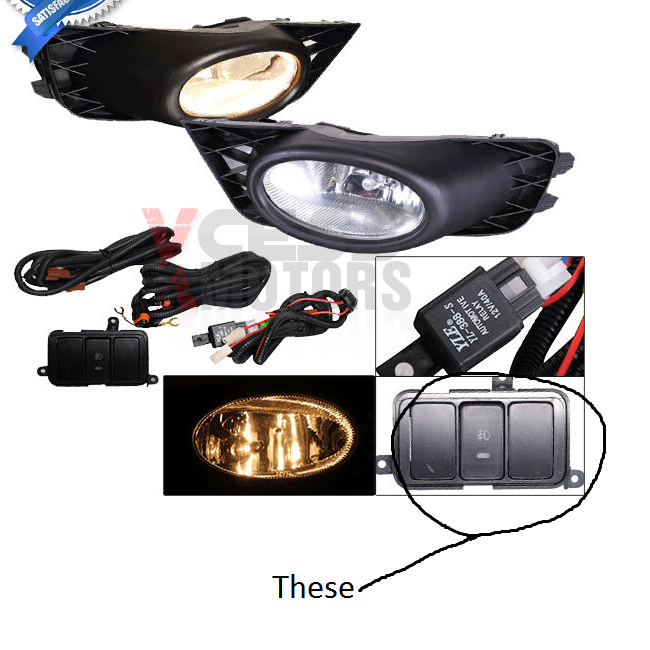 09 Civic Ex: Ebay Fog Lights, with switch install help? - 8th ...