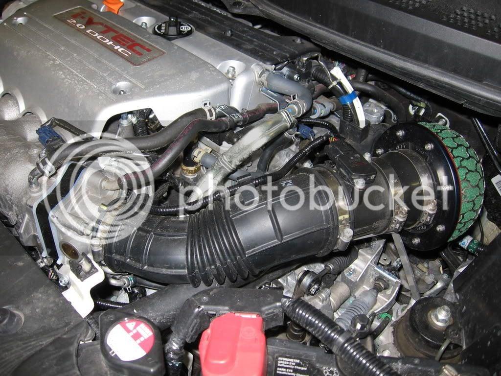 1999-2000 Honda CIVIC Si Coupe Air Intake Flow Tube Genuine OEM   17228-P2T-J00