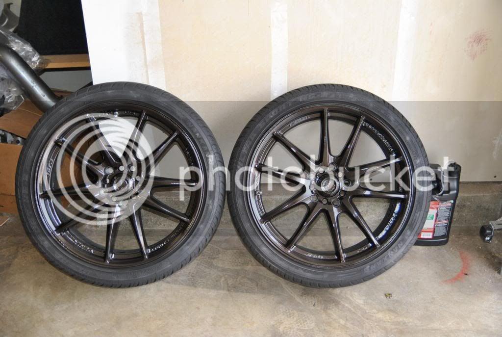 DIY: Plasti dip/paint wheels | 8th Generation Honda Civic Forum