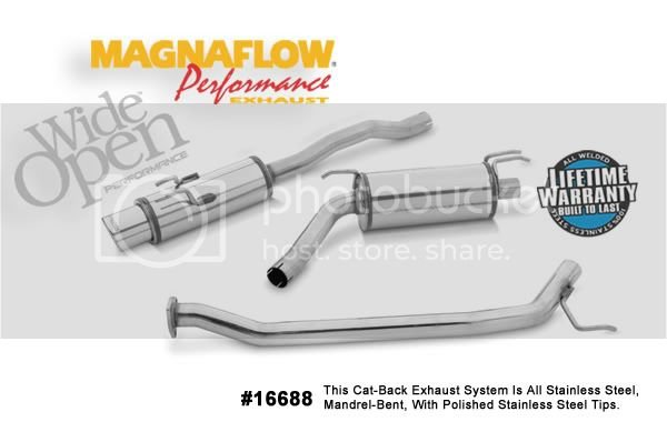 Magnaflow catback exhaust review w/ pics | 8th Generation