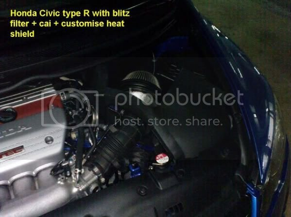 SRI heat shield | 8th Generation Honda Civic Forum