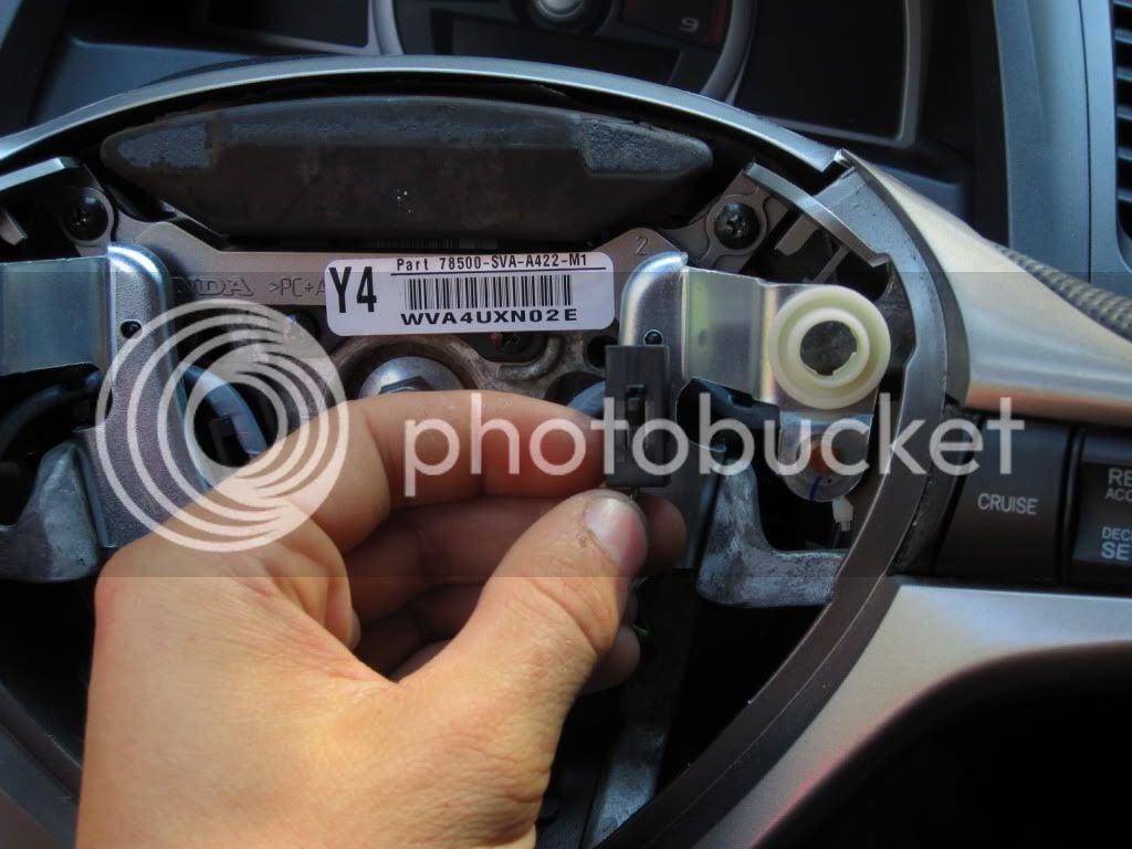 DIY: replacing airbag cover | 8th Generation Honda Civic Forum