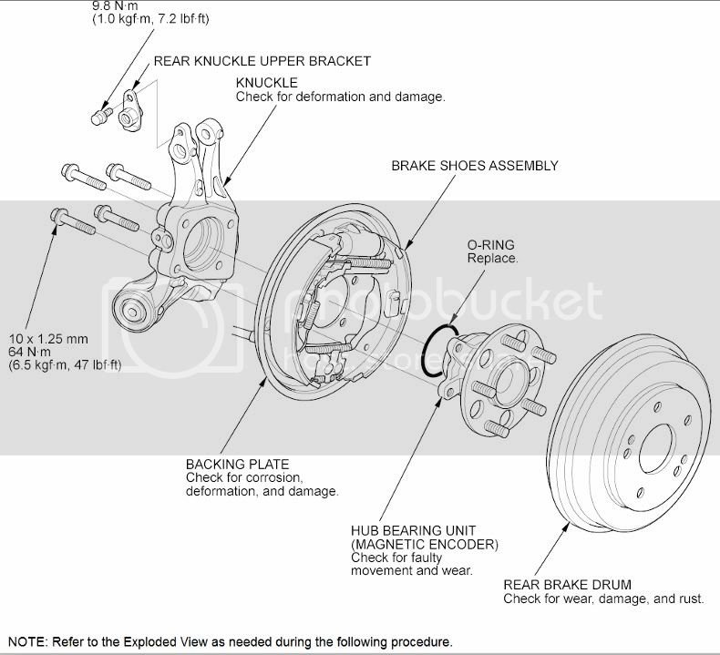 Rear Hub Bearing Replacement - How to? | 8th Generation