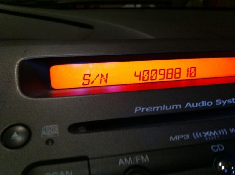 How to Retrieve Your Radio Serial Number and Code   8th