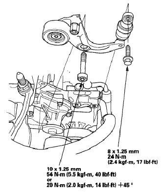 Belt Tensioner Replacement Diy